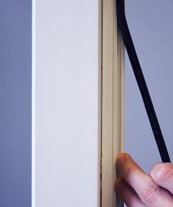 Замена уплотнительной резинки на пластиковом окне