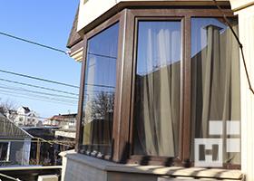 окна в профиле бриллант-дизайн