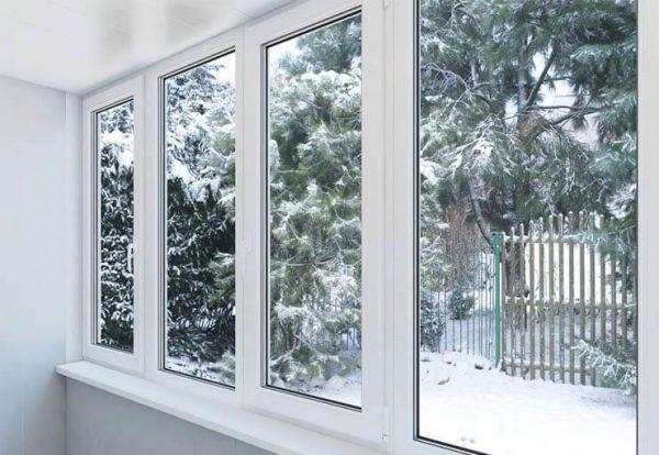 Зимняя установка окон