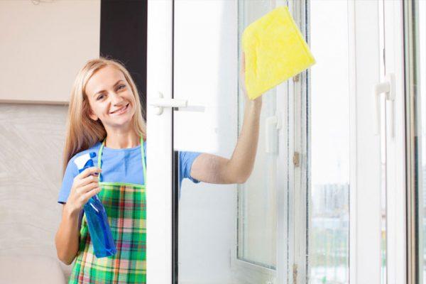 отмывать окна после ремонта