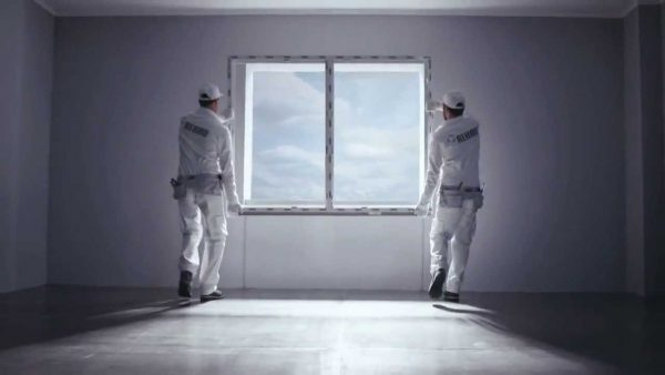 installing windows rehau