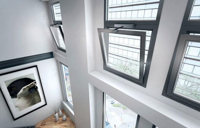 окно на высоте