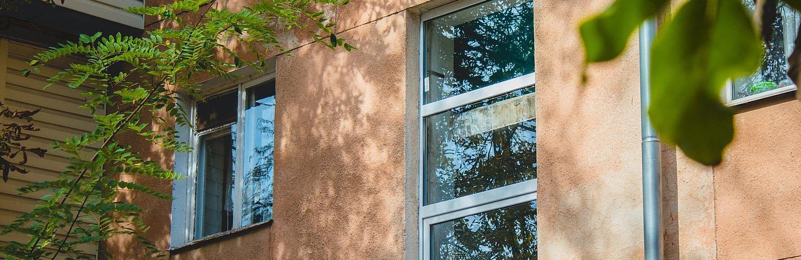 окна при ремонте